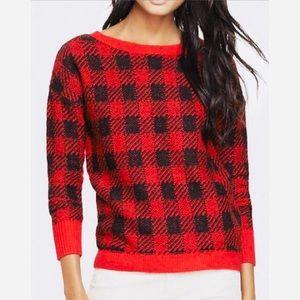 Express Plaid Sweater
